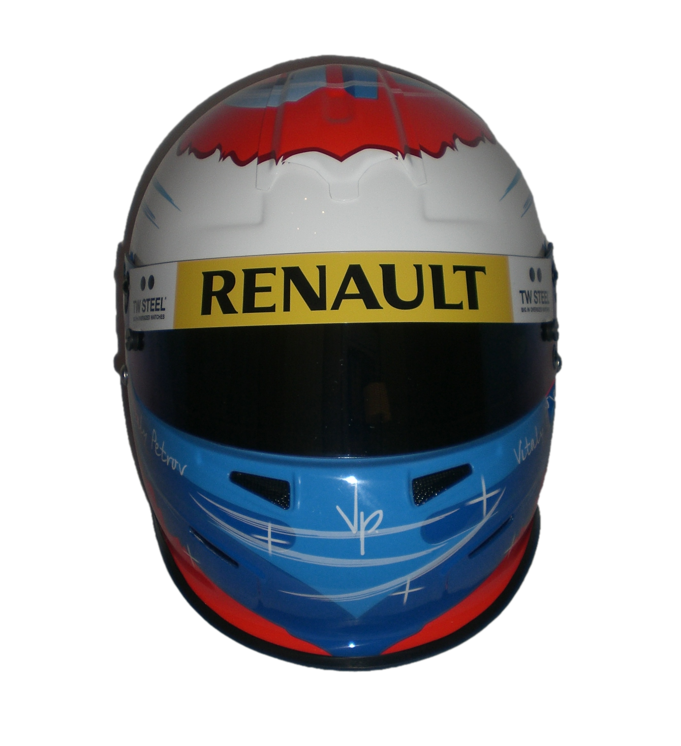 Vitaly Petrov 2010 Renault F1 Official Bell Racing Replica